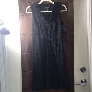 INC International Concepts Laced Black Dress